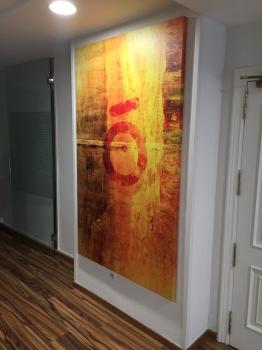 Lienzo impreso con bastidor de madera