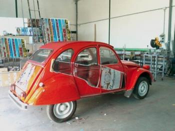Vinilo impreso especial vehículos
